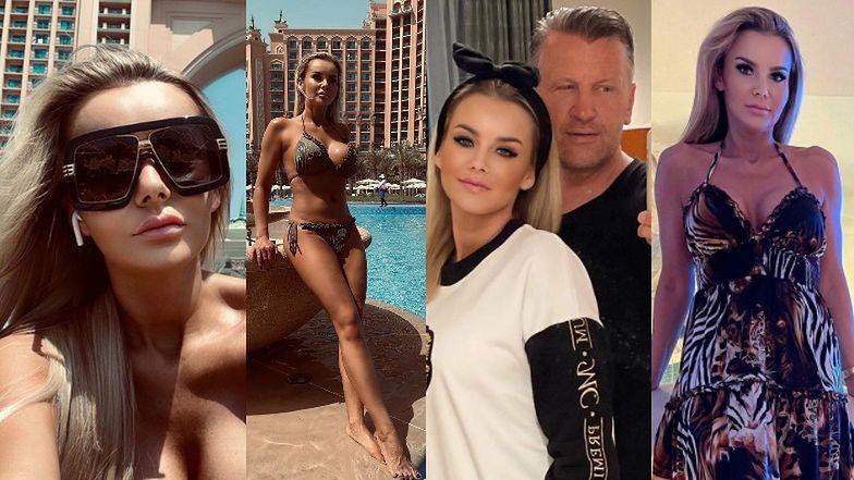 """Była """"Królowa życia"""", Monika Chwajoł, relacjonuje bajeczne wakacje w Dubaju"""