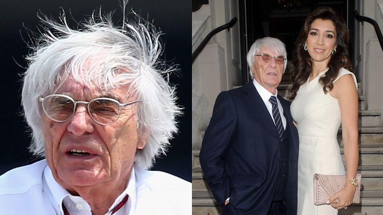 """89-letni Bernie Ecclestone po raz kolejny ZOSTAŁ OJCEM! """"Wszystko skończyło się w 25 minut"""""""