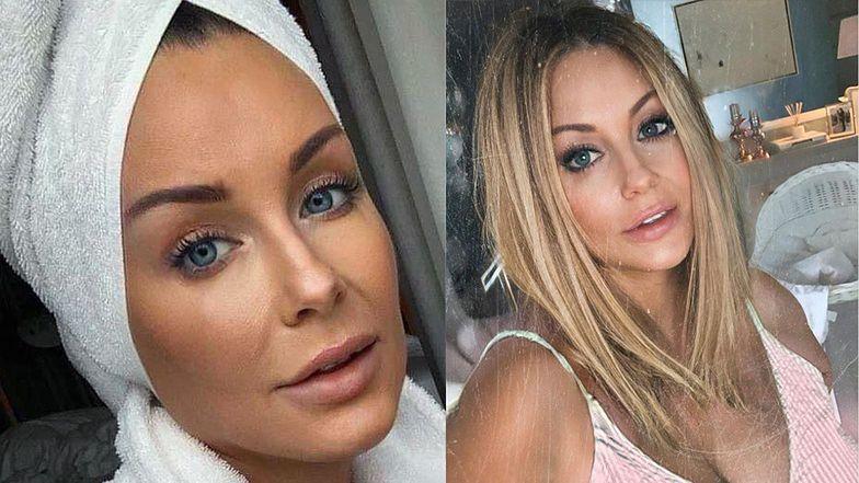 """Małgorzata Rozenek w pełnym makijażu przekonuje, że jej wygląd to zasługa """"cudownego"""" serum: """"Śpię po 3-4 godziny"""""""