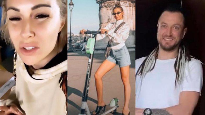 Blanka Lipińska sprezentowała Baronowi elektryczną hulajnogę! Zapragnął jej podczas paryskich wakacji z JULIĄ WIENIAWĄ?!