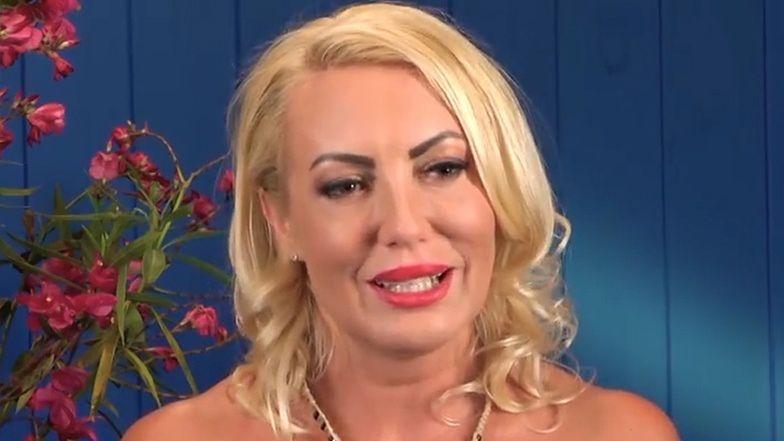 """""""40 kontra 20"""". Tak kiedyś wyglądała Joanna! Miała niebieskie włosy... (ZDJĘCIA)"""