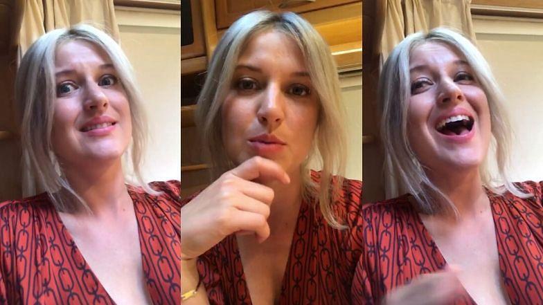 """Szczera Aleksandra Domańska prezentuje nową fryzurę i ogłasza: """"Nie będę miała chłopaka, dopóki nie znajdę kogoś TAK WSPANIAŁEGO, JAK JA"""""""