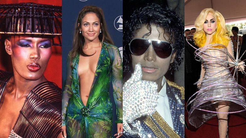 Grammy 2021. Legendarne kreacje z czerwonego dywanu: Cher, Michael Jackson, Lady Gaga, Rihanna (ZDJĘCIA)