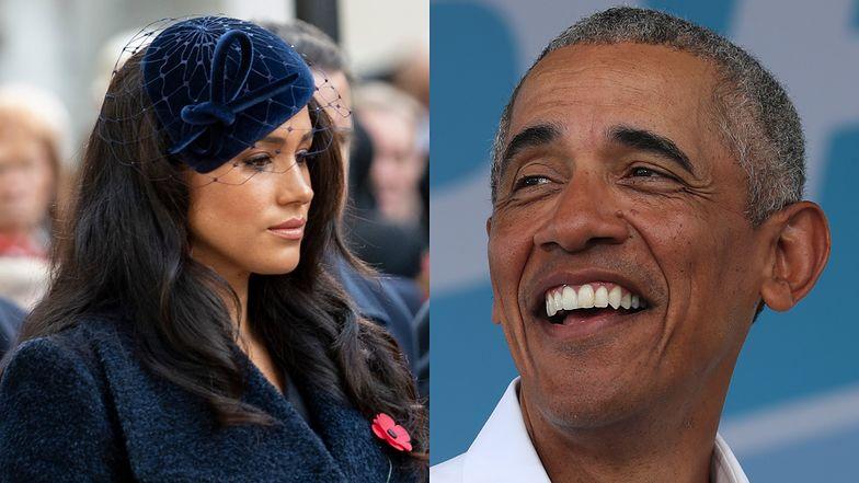 """Meghan Markle """"DESPERACKO chciała dostać się"""" na urodziny Baracka Obamy. Nie zaprosił jej..."""