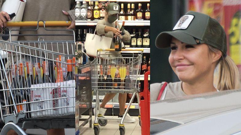 Silna kobieta Blanka Lipińska sama kupuje alkohol na własne urodziny (ZDJĘCIA)