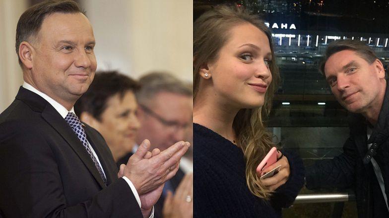 Dumny Tomasz Lis świętuje sukces córki. O gratulacje pokusił się sam Andrzej Duda (FOTO)