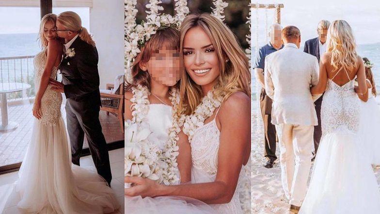 """Była kochanka Piotra Zelta chwali się hawajskim ślubem z miliarderem: """"Jesteś najlepszym, co mogło mi się przydarzyć"""" (FOTO)"""