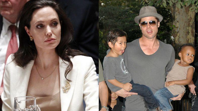 Angelina Jolie przyznaje, że BAŁA SIĘ o swoje dzieci, będąc w związku z Bradem Pittem!