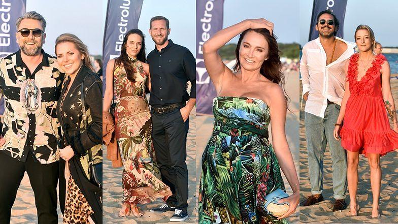 Celebryci pozują na imprezie Tomasza Ossolińskiego i... producenta pralek: Kulczyk, Niemczyccy, Kwaśniewska, Gessler (ZDJĘCIA)