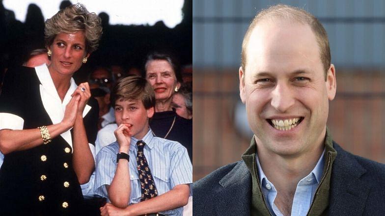 """Książę William dzieli się refleksją o księżnej Dianie: """"Byłaby KOSZMARNĄ BABCIĄ"""""""