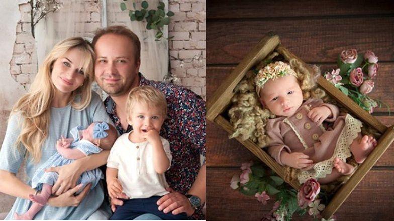 """Anita i Adrian ze """"Ślubu od pierwszego wejrzenia"""" pokazali zdjęcia nowo narodzonej córki. """"Pierwsza sesja w nowym składzie"""""""