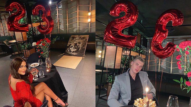 Zakochana Honorata Skarbek w czerwonej mini świętuje urodziny NOWEGO CHŁOPAKA (ZDJĘCIA)