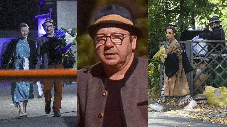 Zakochani Zbigniew Zamachowski i Gabriela Muskała jadą po premierze do lokum aktora, gdzie spędzają razem noc (ZDJĘCIA)