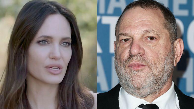 """Harvey Weinstein odpowiada na oskarżenia Angeliny Jolie o molestowanie: """"Każdy jest tobą zainteresowany. Czy w takim razie cały świat cię napastuje?"""""""