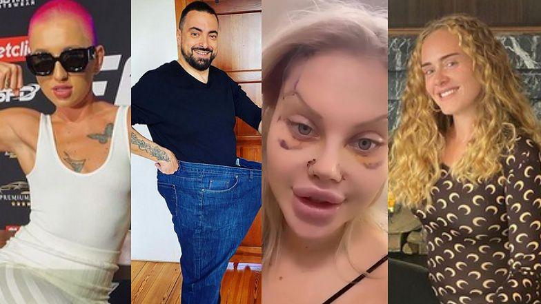 Największe metamorfozy 2020 roku: ODCHUDZONA Adele, ogolona NA JEŻA Marta Linkiewicz i NOWA TWARZ Ewel0ny