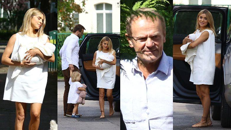 Katarzyna Tusk odwiedziła rodziców Z DRUGĄ CÓRKĄ! (ZDJĘCIA)