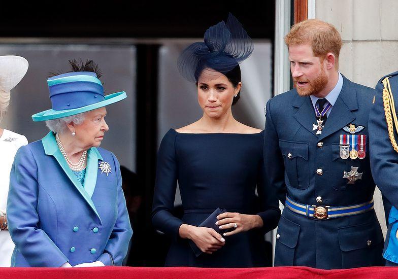 Królowa Elżbieta zatrudniła prawników. Będzie WALCZYĆ z Meghan i Harrym!