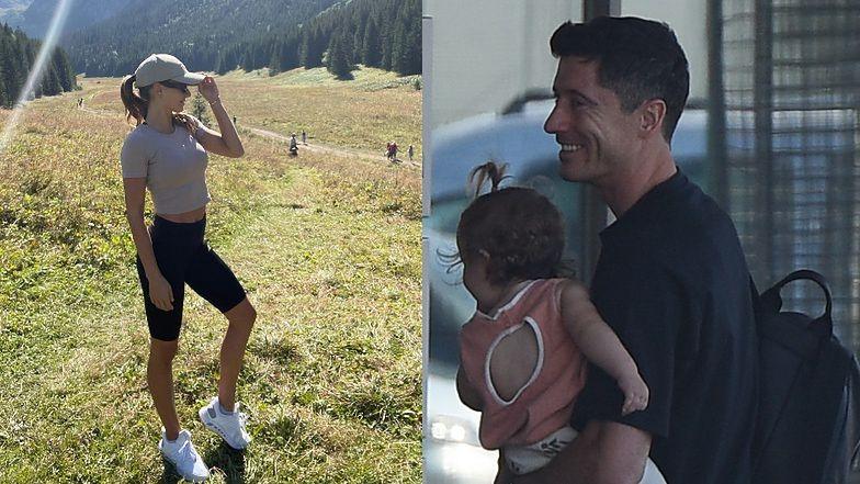 """Troskliwy tata Robert Lewandowski spędza czas z córkami pod nieobecność Ani: """"Moje niesamowite dziewczyny"""" (FOTO)"""