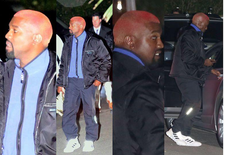 Kanye West przefarbował się na RÓŻOWO