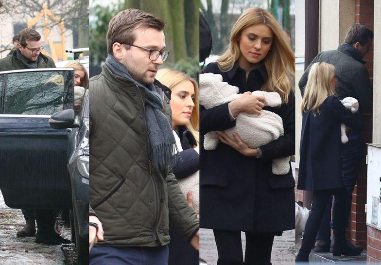 Kasia Tusk pokazała się z dzieckiem