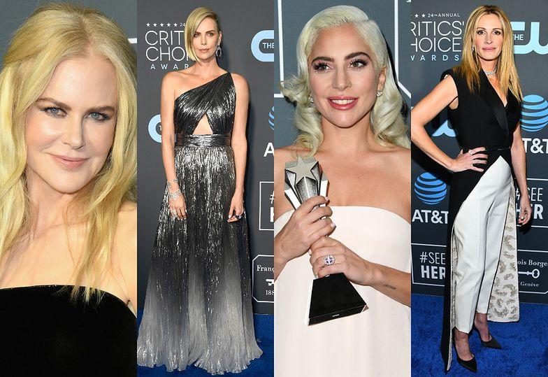 Nicole Kidman, Charlize Theron, Lady Gaga i Julia Roberts