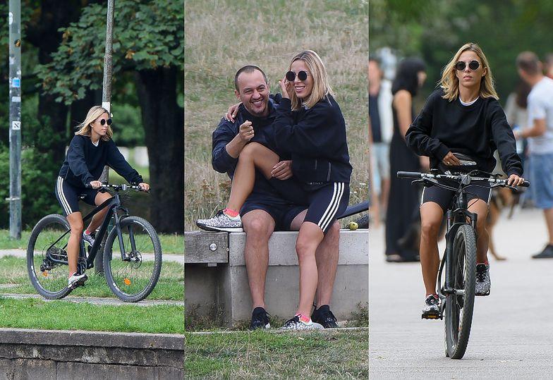 Chodakowska na romantycznym rowerowym rajdzie z mężem