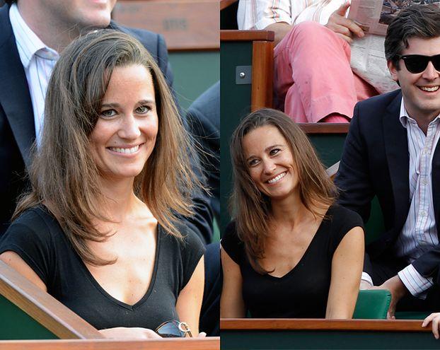 Pippa Middleton poszła na mecz Radwańskiej! (ZDJĘCIA)