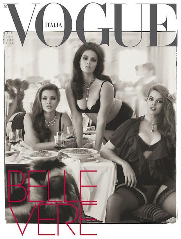 """Modelki w rozmiarze plus na okładce """"Vogue'a""""!"""