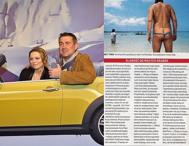 """Newsweek"" pisze o Kydryńskim w artykule o SEKSTURYSTYCE"