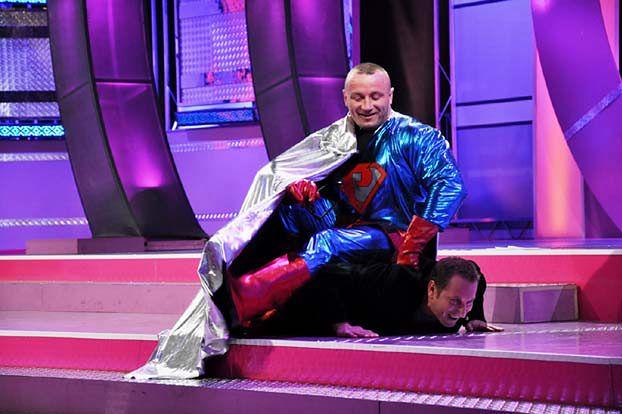Pudzianowski jako Superman!