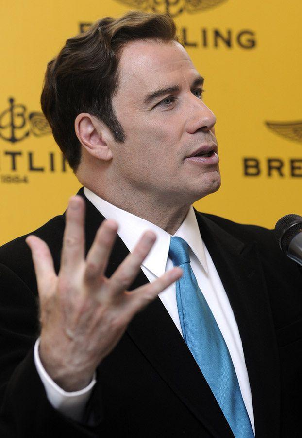 Travolta uwodził mężczyzn w saunie!