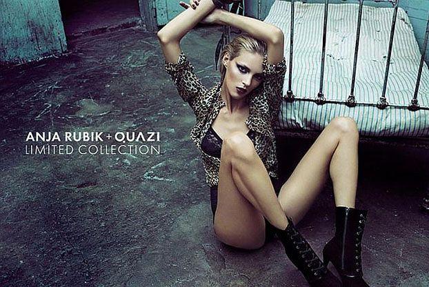 Anja Rubik ubrana w panterkę! (ZDJĘCIA)