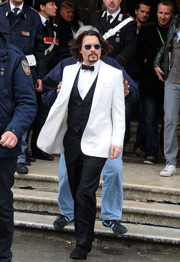 Elegancki Johnny Depp! (ZDJĘCIA)