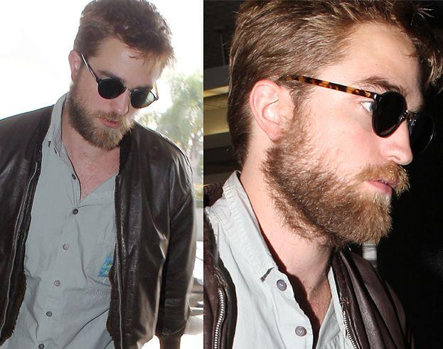BRODATY Robert Pattinson! (ZDJĘCIA)
