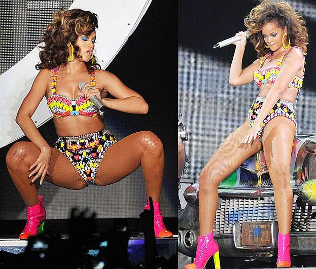 Rihanna WYPINA SIĘ NA SCENIE!