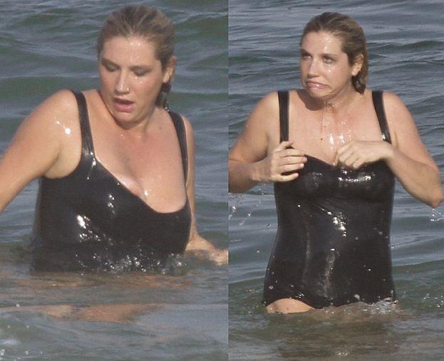 """Kesha w kostiumie kąpielowym... """"ZONK""""?"""