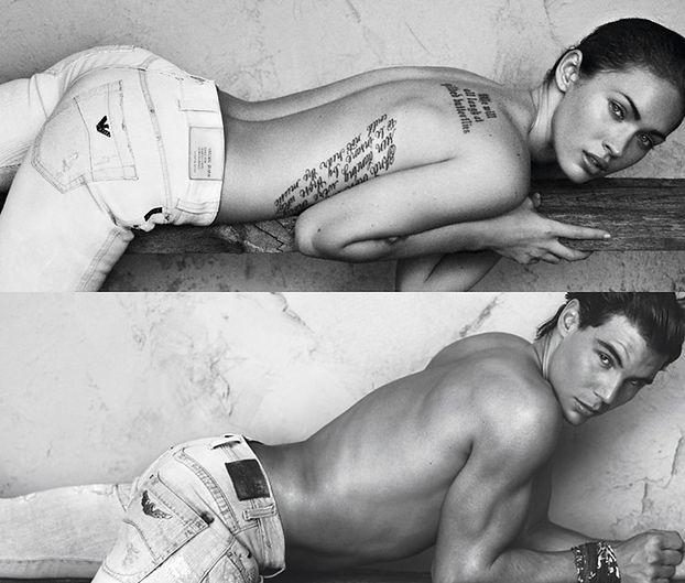 Megan Fox w nowej kampanii Armaniego! (ZDJĘCIA)