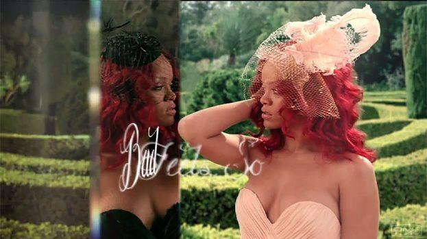 Romantyczna Rihanna w reklamie perfum (WIDEO)