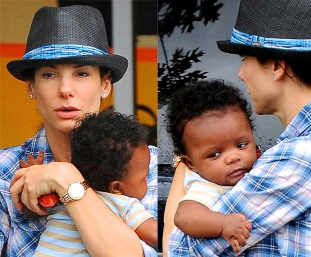 Sandra Bullock z adoptowanym synkiem! (ZDJĘCIA)