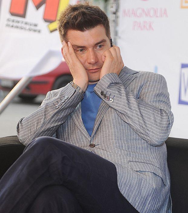 """""""Tomek jest niesamowicie spięty!"""""""