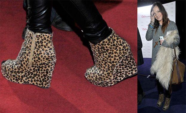 Kto założył buty w cętki? (FOTO)