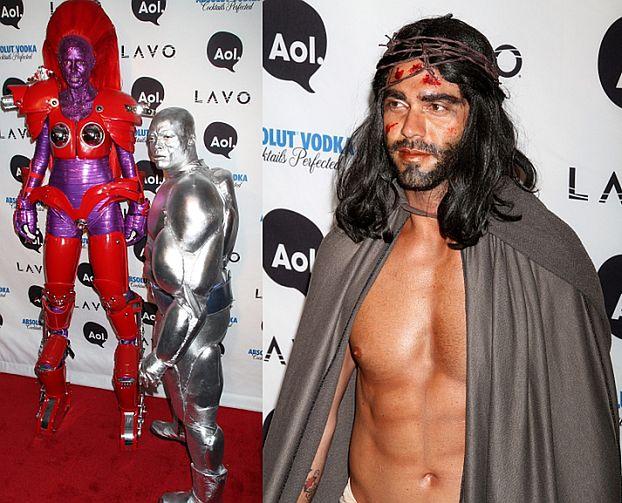 Superbohaterka i... JEZUS na imprezie Halloween