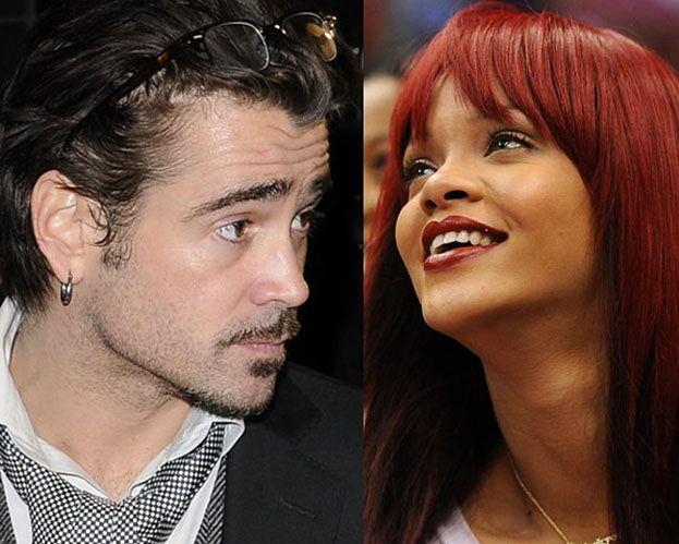 Rihanna podrywa... Colina Farrella?!