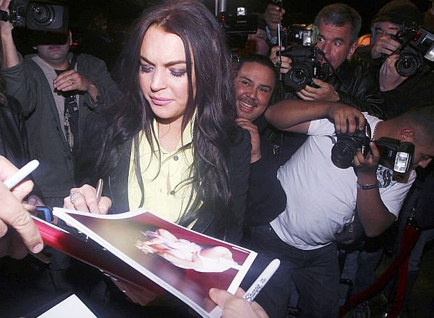 Lindsay... UKRADŁA ROLEXA!