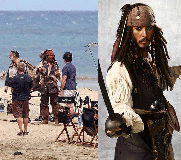 """Zdjęcia z planu """"Piratów z Karaibów 4""""!"""