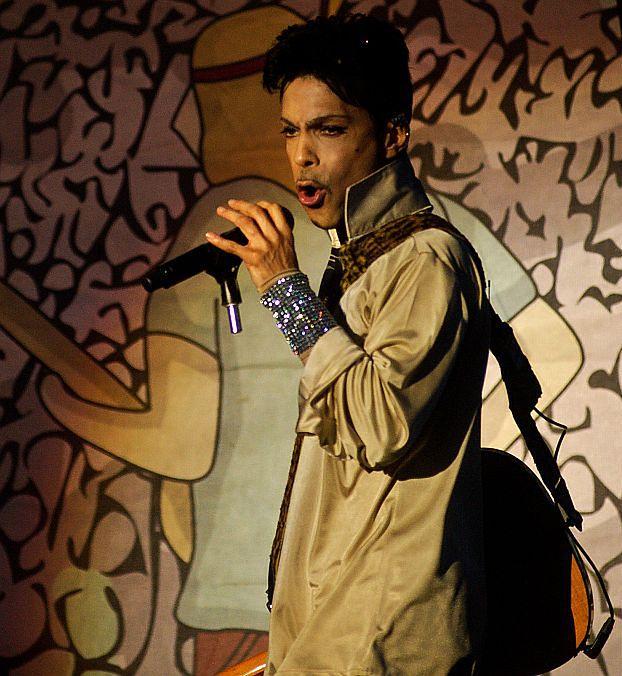 Prince miał na Open'erze... własną plażę!