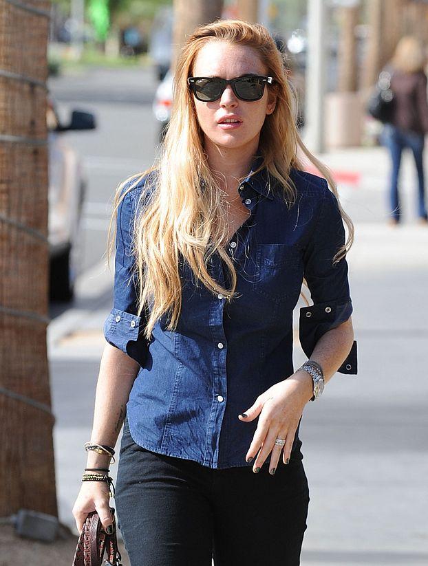 Lindsay Lohan prześladuje fotograf-psychofan!