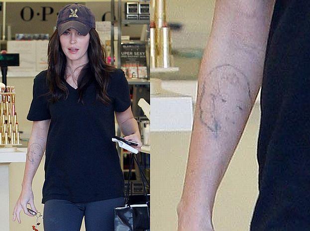 Megan usuwa tatuaż z Marilyn!