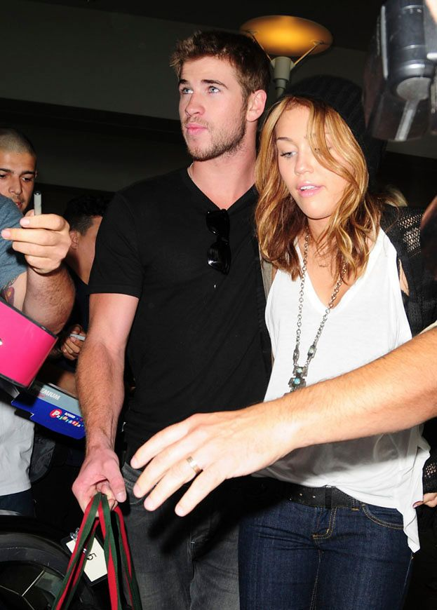 Miley i Liam Hemsworth znowu są razem!