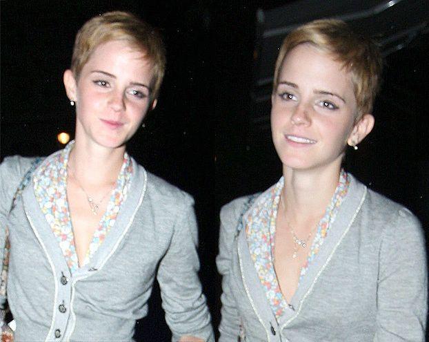 Emma Watson w nowej fryzurce (ZDJĘCIA)